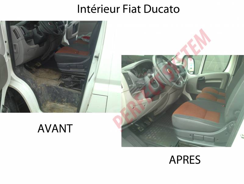 Fiat new perfect system for Interieur fiat ducato 2000